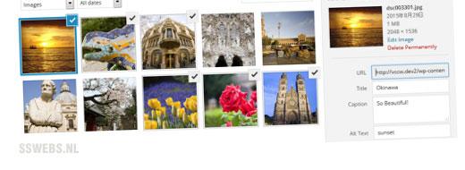 WordPress fotogalerij maken