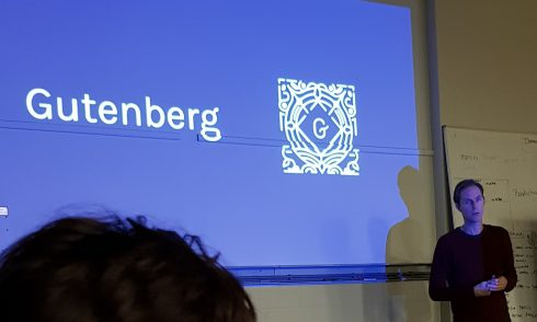Meetup over Gutenberg en neuromarketing