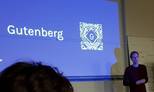 Meetup over Gutenberg en neuromarketing
