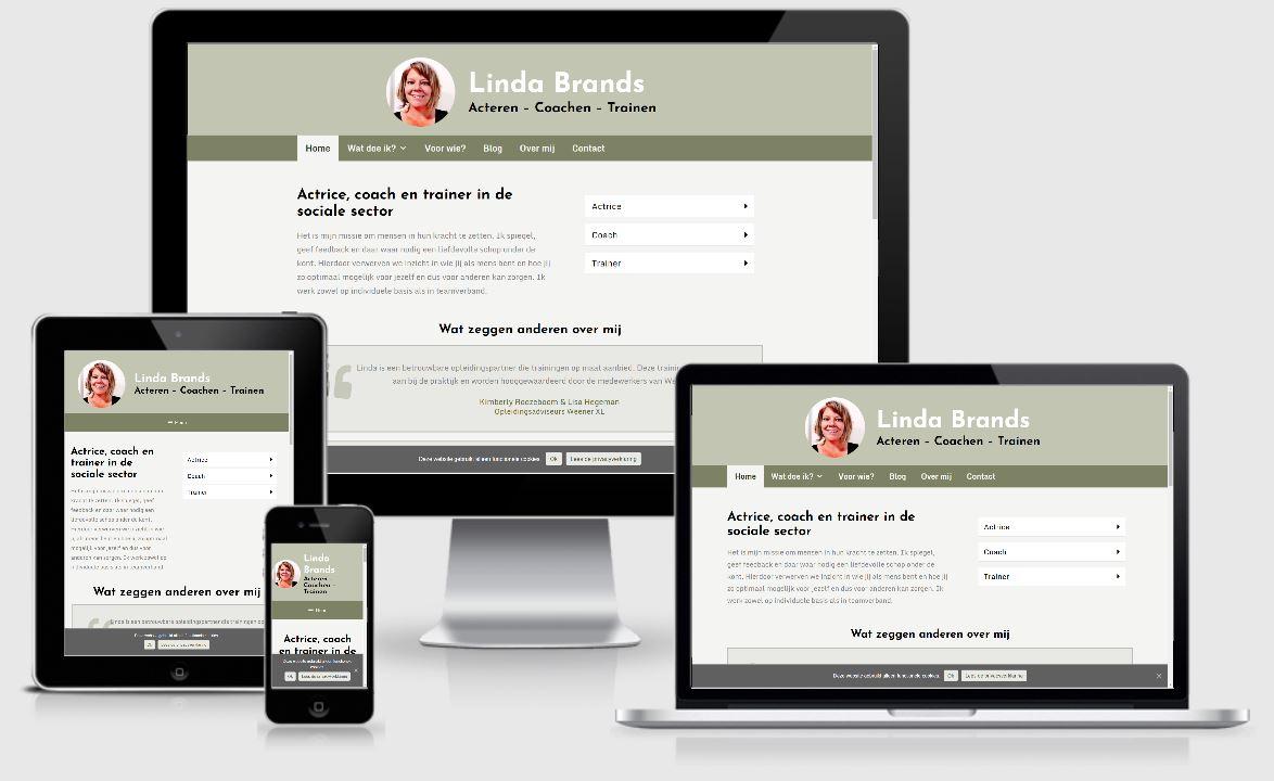 website Linda Brands