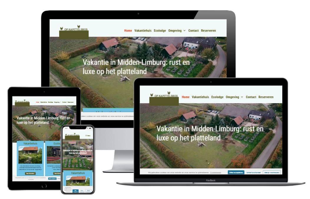 website Op Kapittelsbos