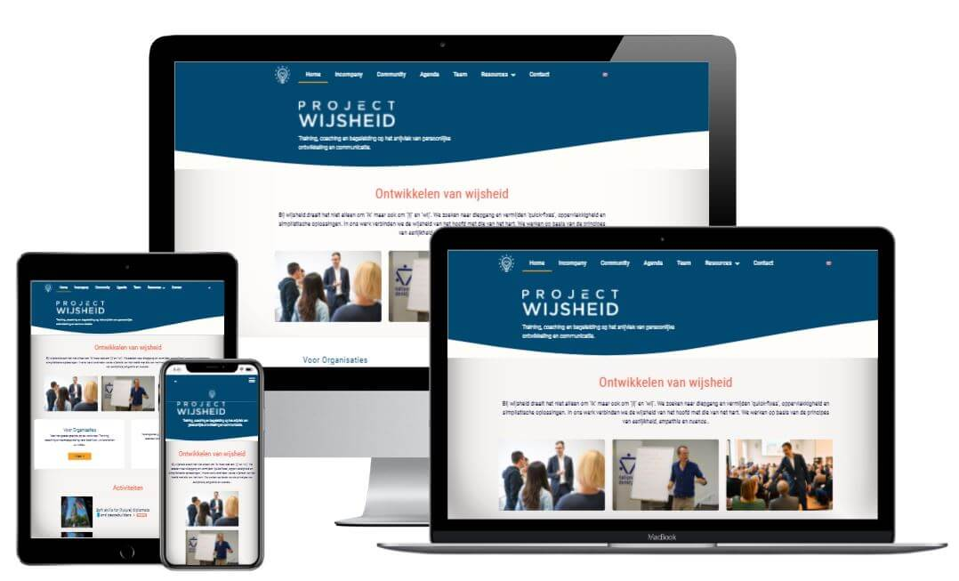 website Project Wijsheid