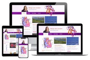 website Marga van Zundertt