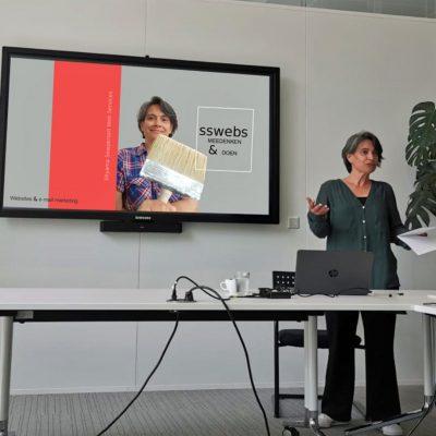 Presentatie van sswebs